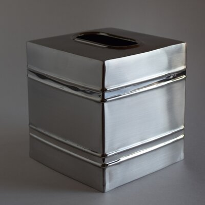 Sienna Stainless Steel Square Tissue Box Cover