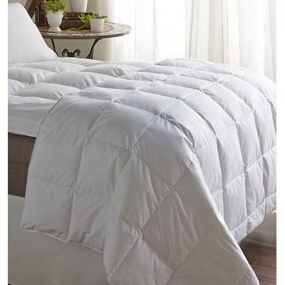 Hybrid Down Blend Comforter Size: King