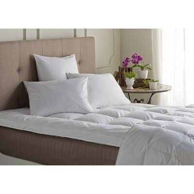 Natural 2 Down Mattress Pad Size: King