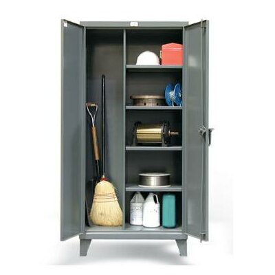 Broom Closet 2 Door Storage Cabinet Product Image 980