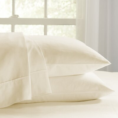 Eternal 120 GSM Luxury Sheet Set Size: Twin, Color: Ivory