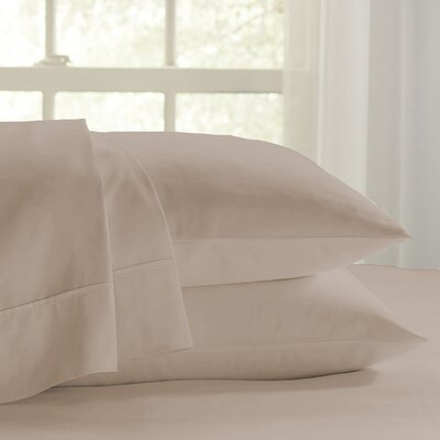 Eternal 120 GSM Luxury Sheet Set Size: Twin, Color: Taupe