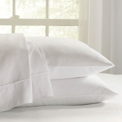 Eternal 120 GSM Luxury Sheet Set Color: White, Size: King
