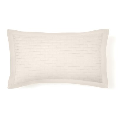 Eternal Madison Quilted Sham Size: King, Color: Ivory