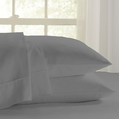 Eternal 120 GSM Luxury Sheet Set Size: Twin, Color: Graphite
