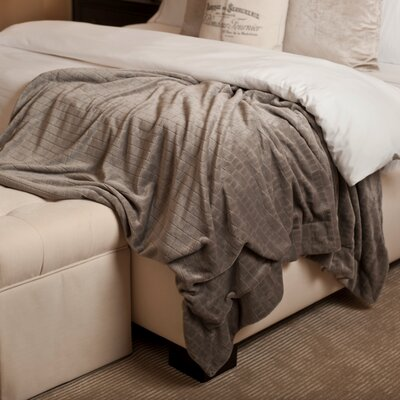 Oversized Luxury Throw Color: Taupe