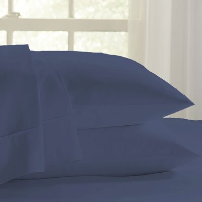 Eternal 120 GSM Luxury Sheet Set Size: King, Color: Indigo
