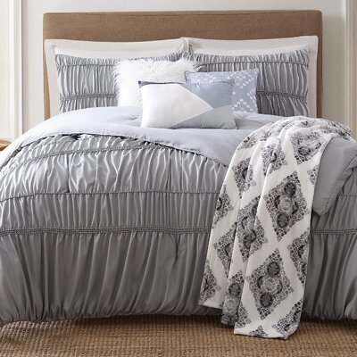 Lending 7 Piece Comforter Set Size: King