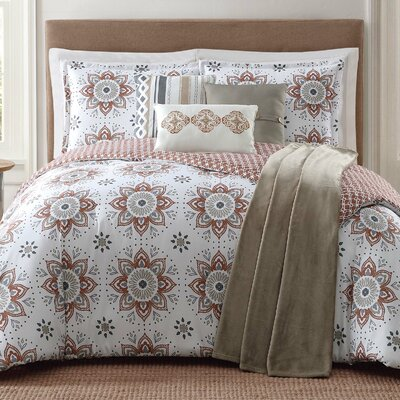 Maywood 7 Piece Comforter Set Size: Full/Queen