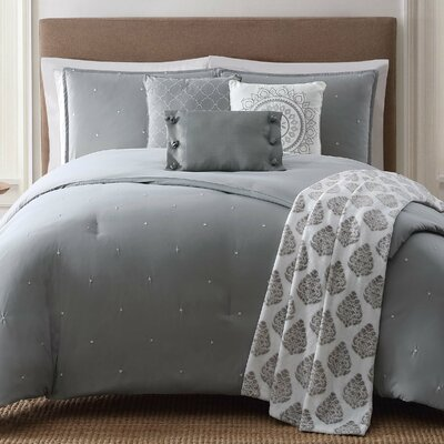 Darby 7 Piece Comforter Set Size: Full/Queen