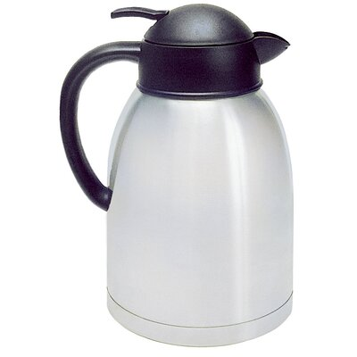 Sup-R-Serv Stainless Steel Push Button 8 Cup Coffee Server SA-19X