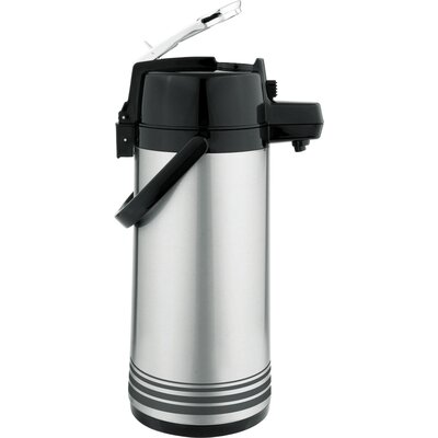 Stainless Steel Lever 10.5 Cup Airpot LSVL-25/BK/SF