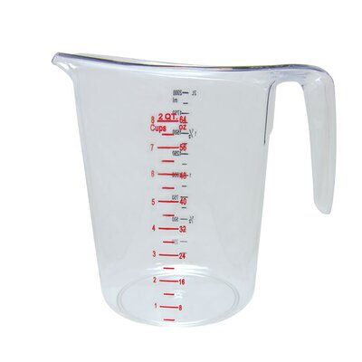 2-Qt Polycarbonate Measuring Cup MEA-200PC