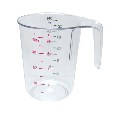1 Cup Polycarbonate Measuring Cup MEA-25PC