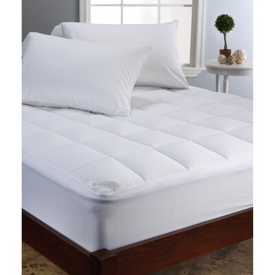 Brookstone Climasure Performance Mattress Pad Size: Twin