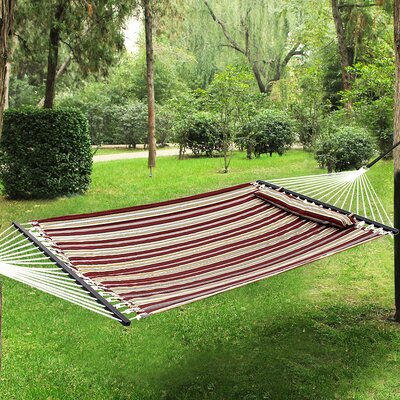 Oxford Tree Hammock Color: Red/Yellow