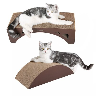 2-in-1 Cat Scratcher Lounge Pad