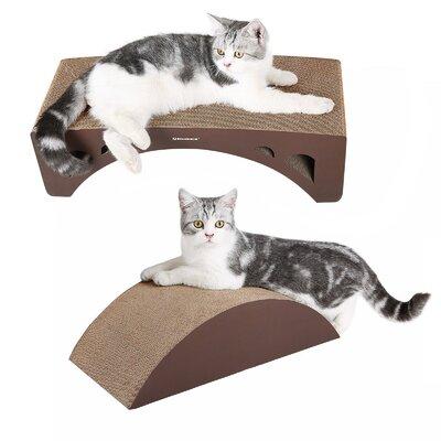 2-in-1 Cat Scratcher Lounge Pad