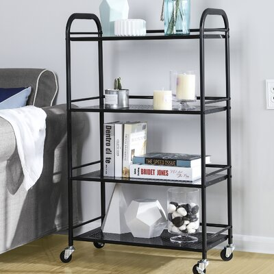 4 Tiers Storage Kitchen Cart