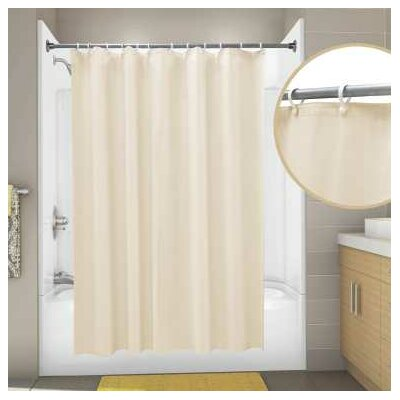 Vinyl Proplus Econocord Shower Curtain Color: Champagne