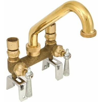 Centerset Laundry Faucet with Lever Handles
