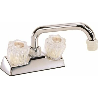 Deck Mounted Laundry Tub Faucet Trim