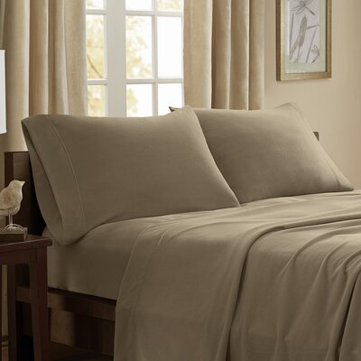 Etheridge 227 Thread Count Sheet Set Size: King, Color: Mink