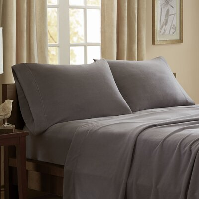 Etheridge 227 Thread Count Sheet Set Size: Twin, Color: Gray