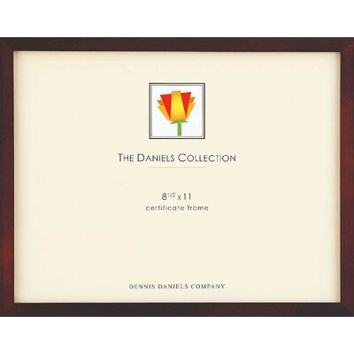 Gallery Picture Frame (Set of 6) Size: 8.5 x 11, Color: Walnut