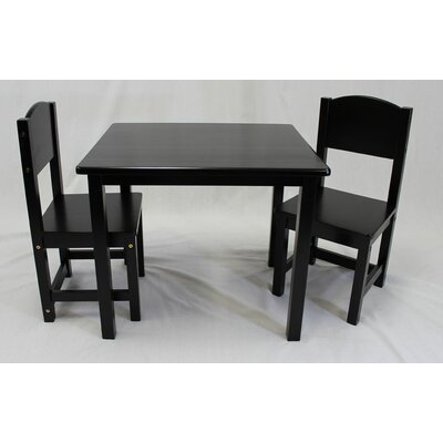 Kids 3 Piece Table and Chair Set csci415