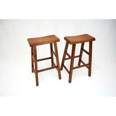 Lynnwood 29 Bar Stool Finish: Dark Oak