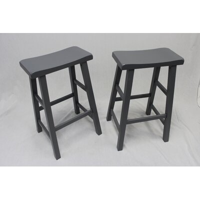 Lynnwood 29 Bar Stool Finish: Grey