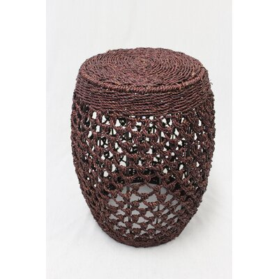 Seagrass Stool Finish: Dark Brown
