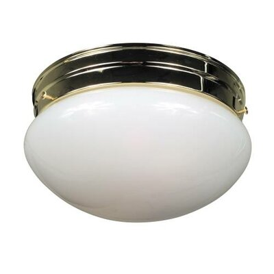 2-Light Flush Mount