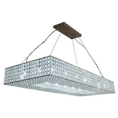 18-Light Semi Flush Mount