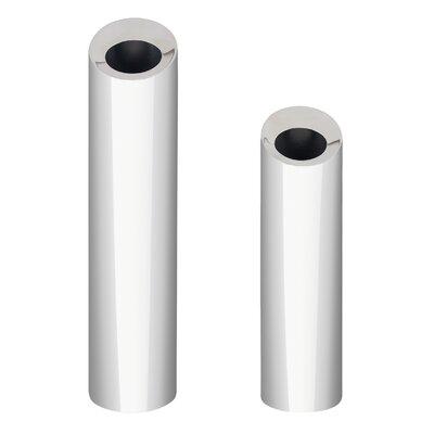 2 Piece Angled Cylinder Vase Set 7300K/L-SET