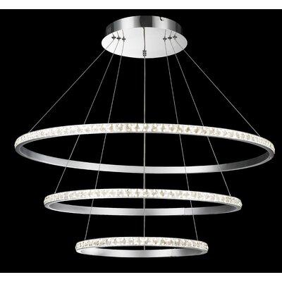 3-Lights Geometric Pendant