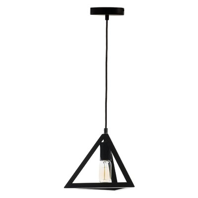 Dicken Pyramid 1-Light Pendant