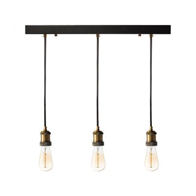 Fabian 3-Light Kitchen Island Pendant