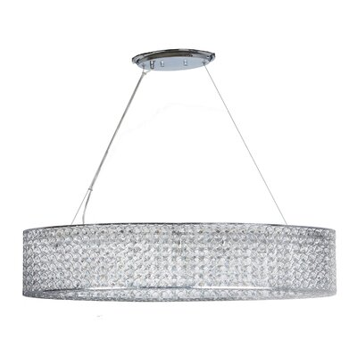 Aguinaldo 9-Light Crystal Chandelier