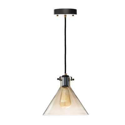 Beckham Cognac 1-Light Mini Pendant