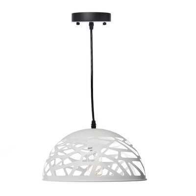 Montross Modern Touch Inverted Pendant Shade Color: White