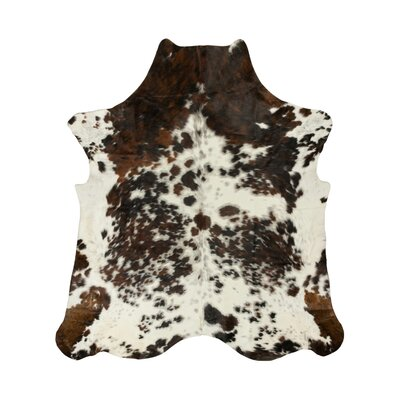 Brownlow Genuine Cowhide Brown Area Rug