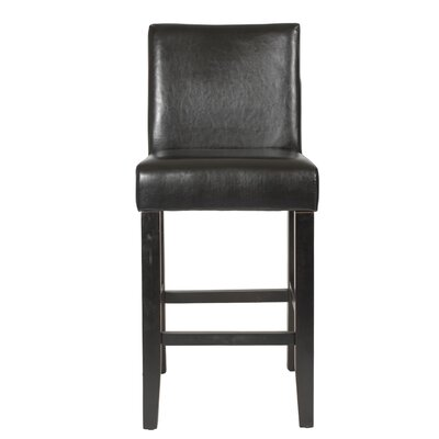 Citylight 25 inch Bar Stool Upholstery: Brown