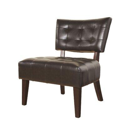Anjotiya Slipper Chair Upholstery: Brown