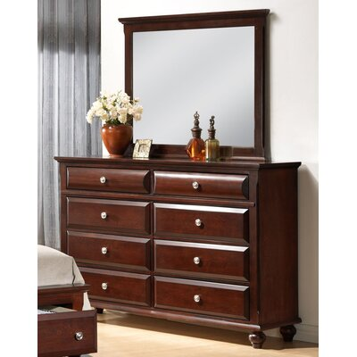 Concord 8 Drawer Dresser with Mirror
