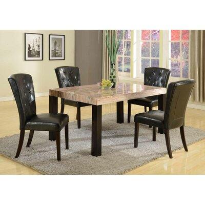 Mishelle 5 Piece Dining Set