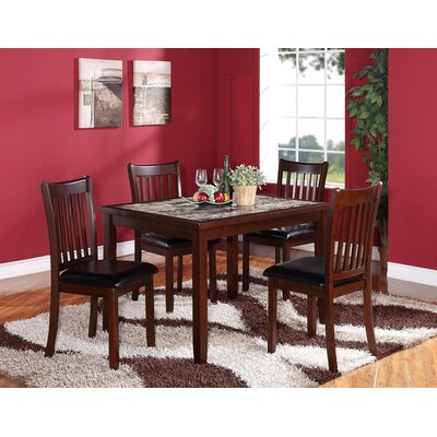 Zoho 5 Piece Dining Set