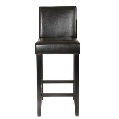 Citylight 29 Bar Stool Upholstery: Brown