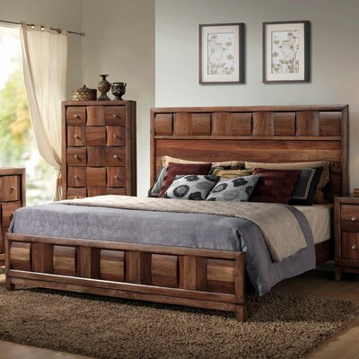 Calais Panel Bed Size: King